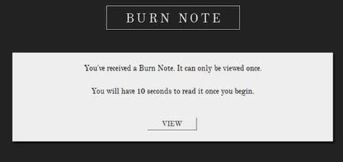 Burn Note