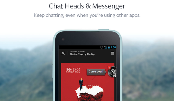 Chat Heads and Messenger