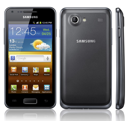XXLPZ on Galaxy S advance